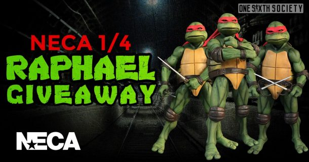 Enter Our NECA 1/4 Raphael Giveaway!