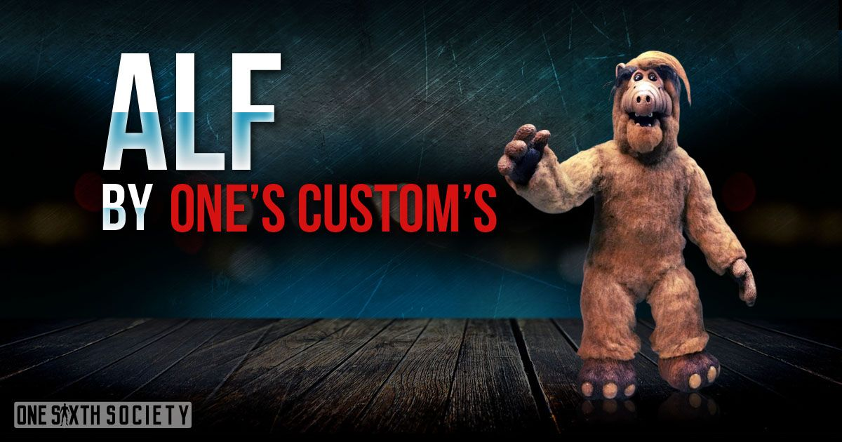 One's Custom's Sixth Scale Alf Figure is the Only one of its kind!
