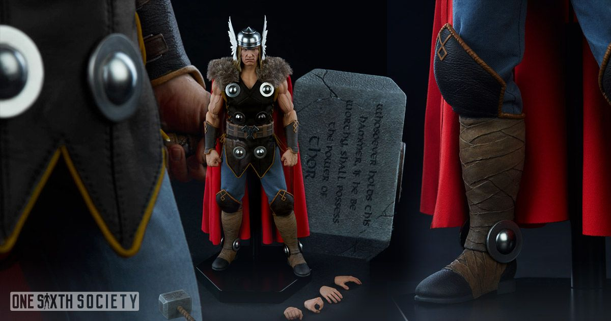 These are The Sideshow Collectibles Thor Accessories You Will Get!