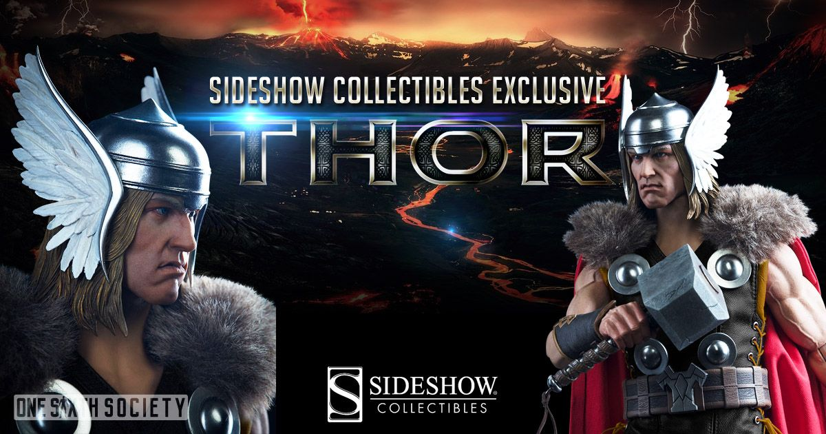 Sixth Scale Sideshow Collectibles Thor Exclusive