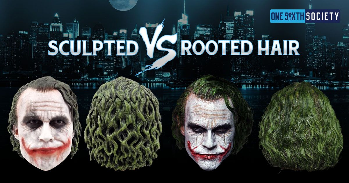 Sculpted vs Rooted Hair on Figures