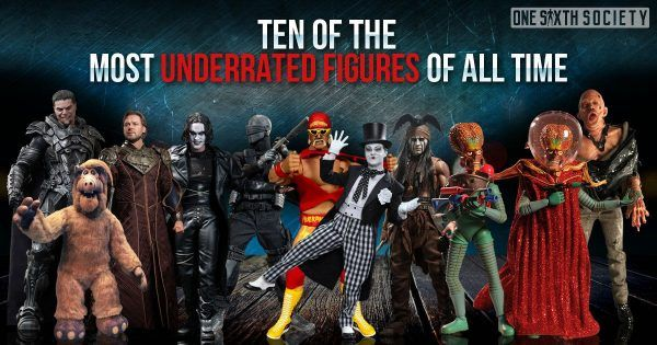 Ten of The Most Underrated Action Figures of All Time