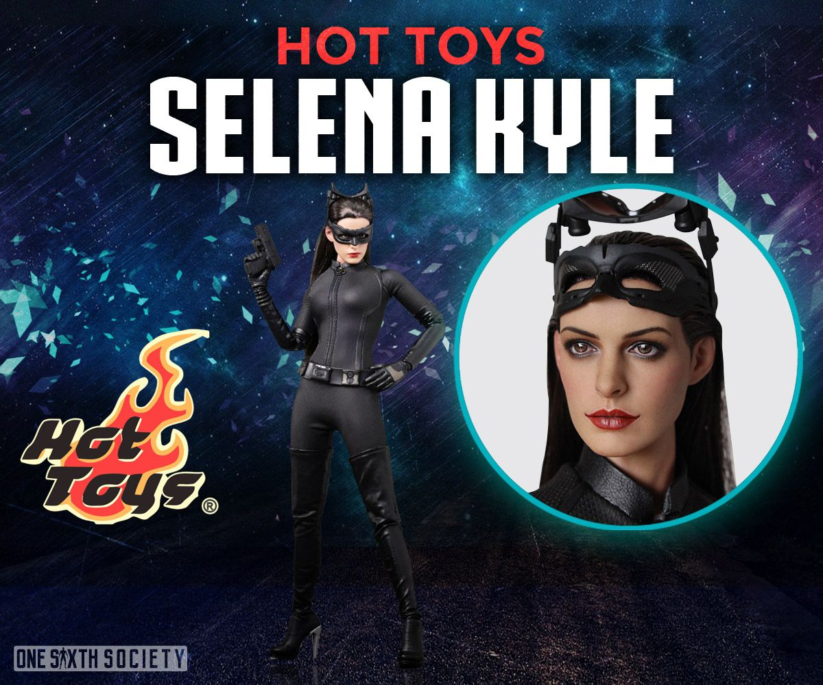 The Hot Toys Selina Kyle Head Sculpt is Spot On