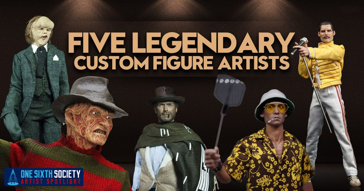 5 Amazing Custom Sixth Scale Figure Artists