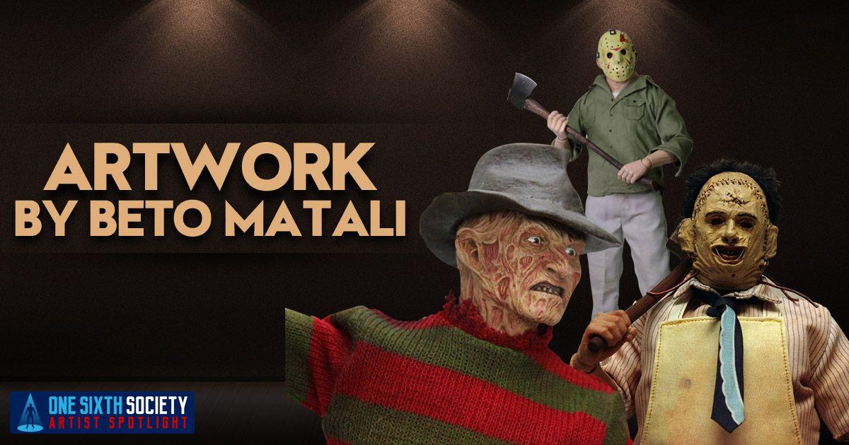 Beto Matali Creates the Coolest Custom Sixth Scale Figures Figures!