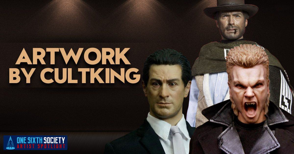 CultKing Creates one of Kind Custom Sixth Scale Figures