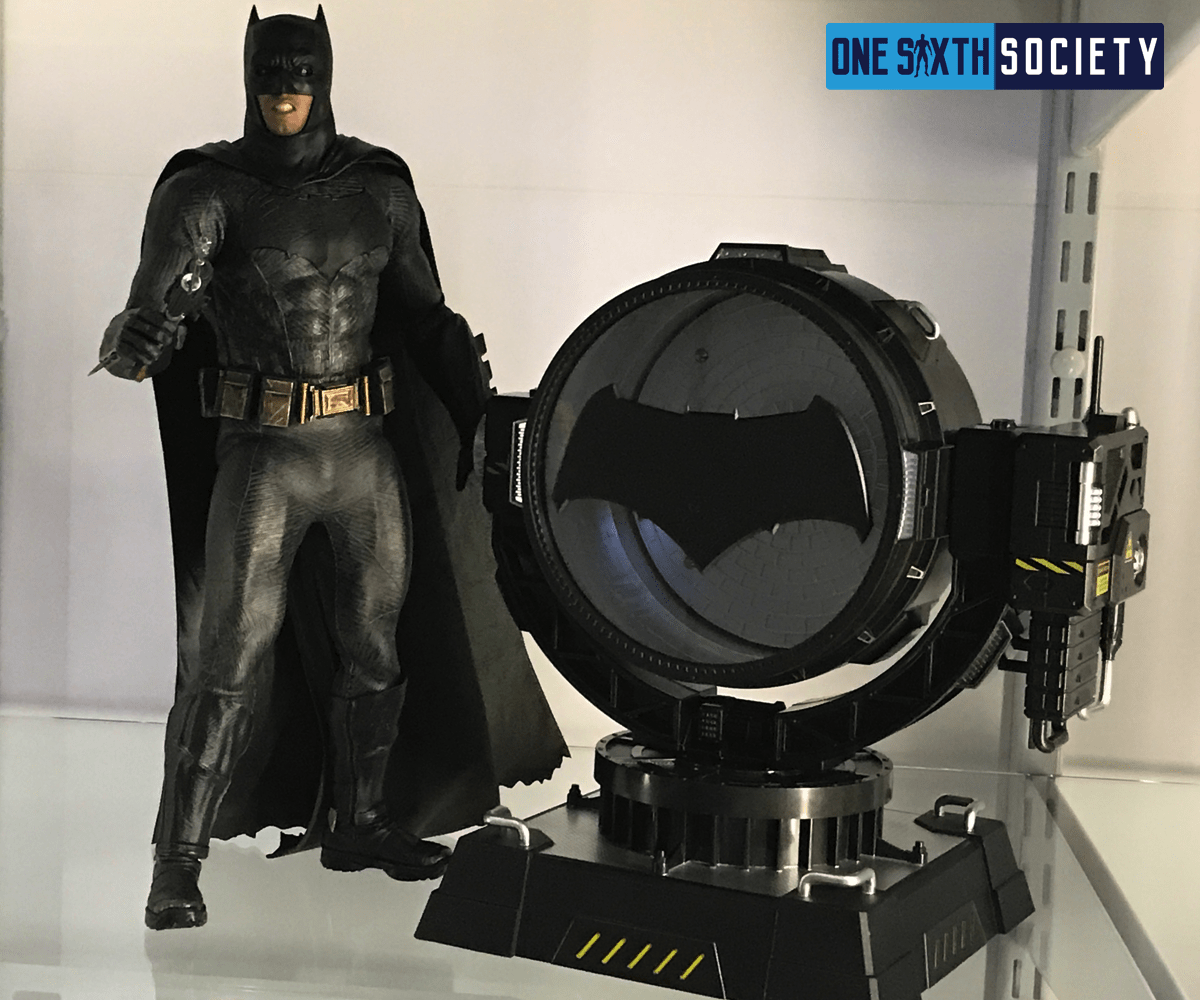 The Hero Club Bat Spotlight Compliments The BVS Batman Figure