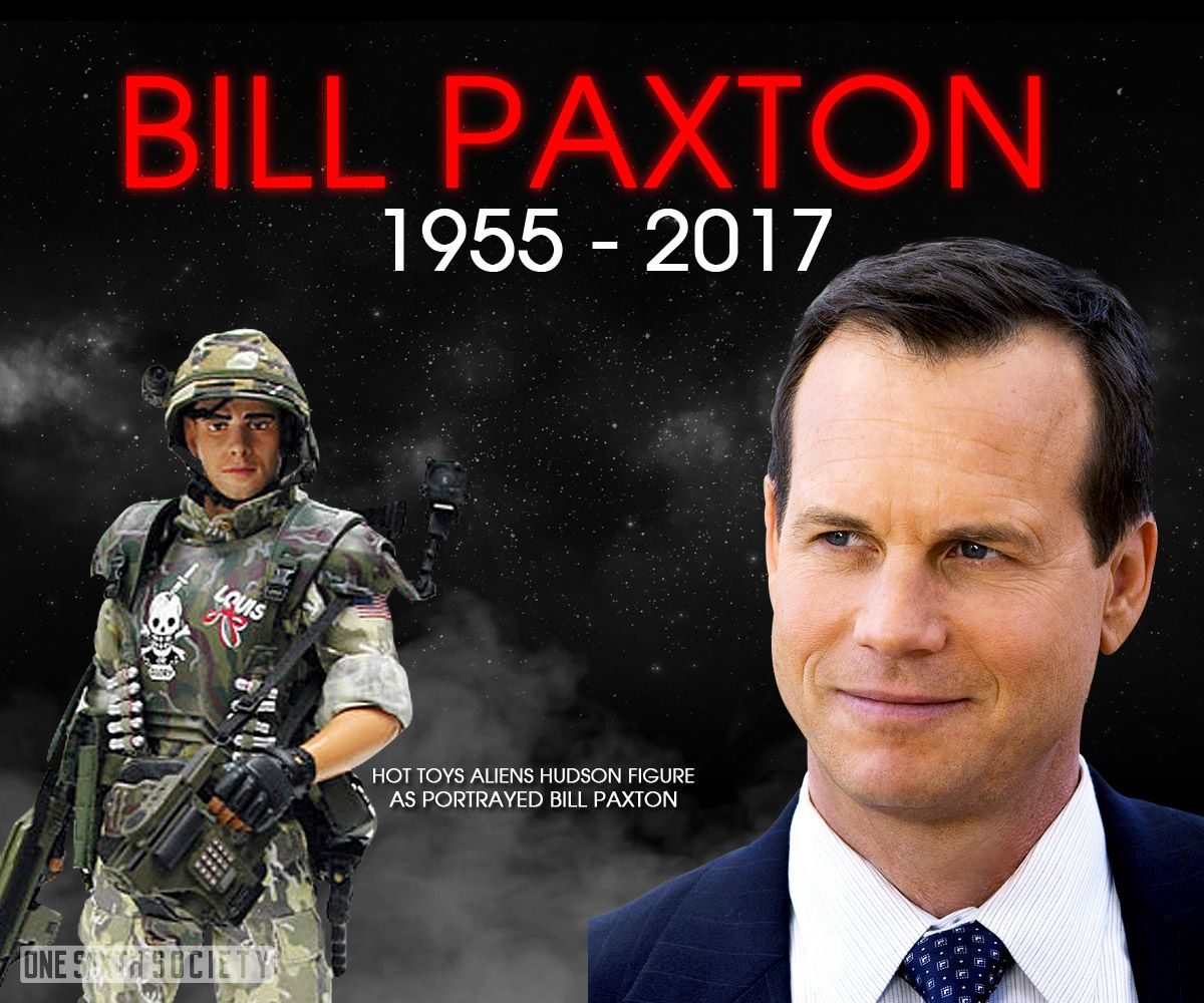 Will The Hot Toys Aliens Hudson Figure Be Worth More now that Bill Paxton is Gone