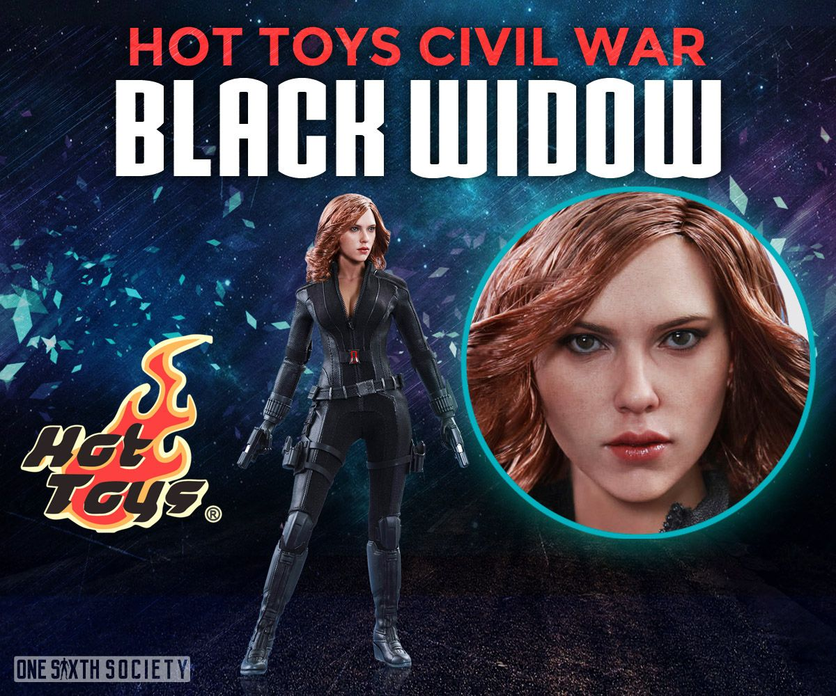 The Hot Toys Civil War Black Widow Head Sculpt is one of the best out there