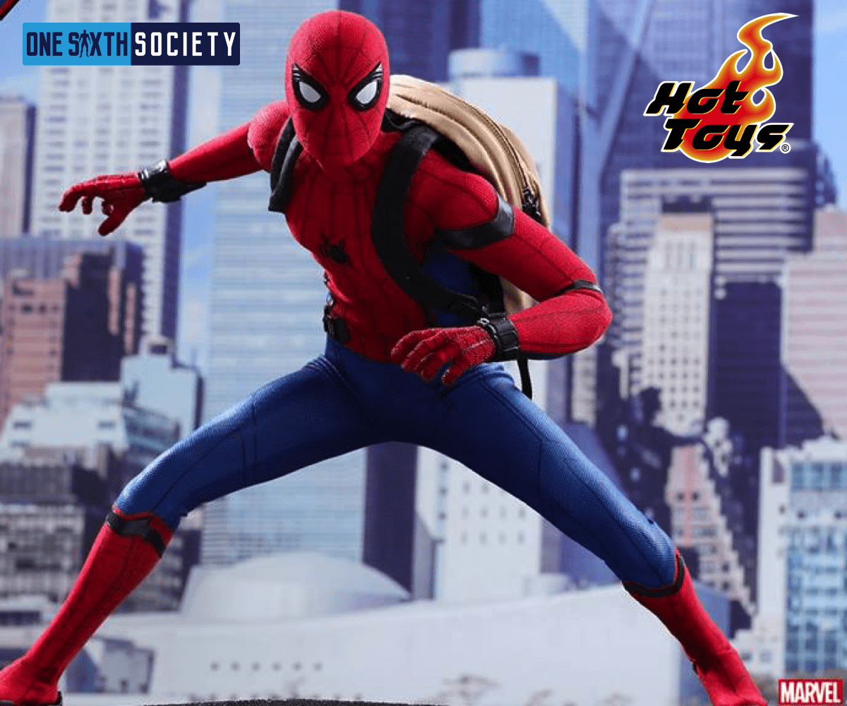 The Hot Toys Homecoming Spider Man Figure Will Release in 2018