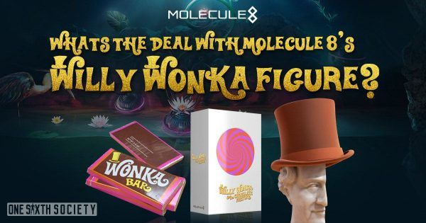 Details About The Molecule8 Willy Wonka Figure
