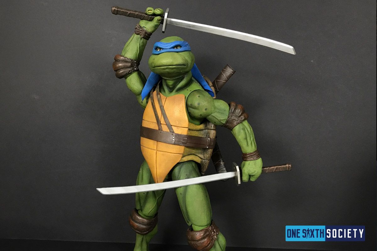 NECA's Leonardo has Huge Swords