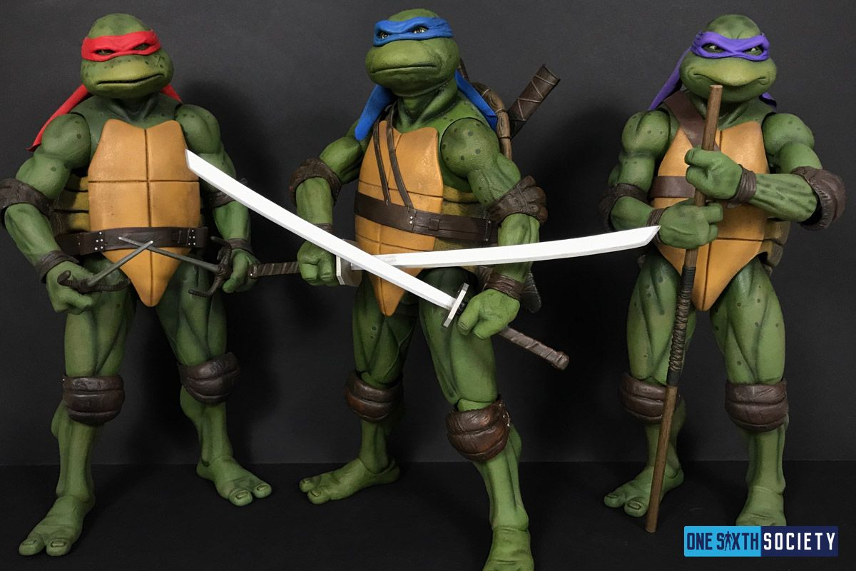 The Neca Leonardo Donatello Raphael Figures Are Finally Together
