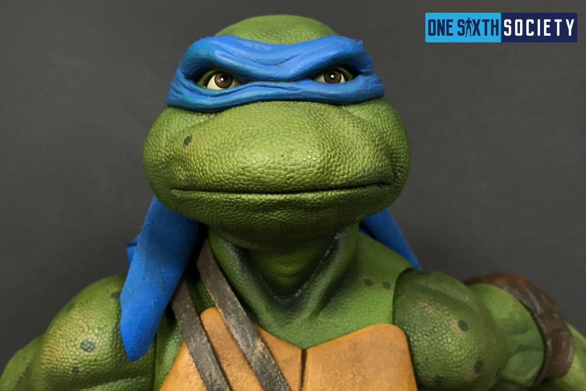 The NECA Leonardo Headsculpt is Spot On