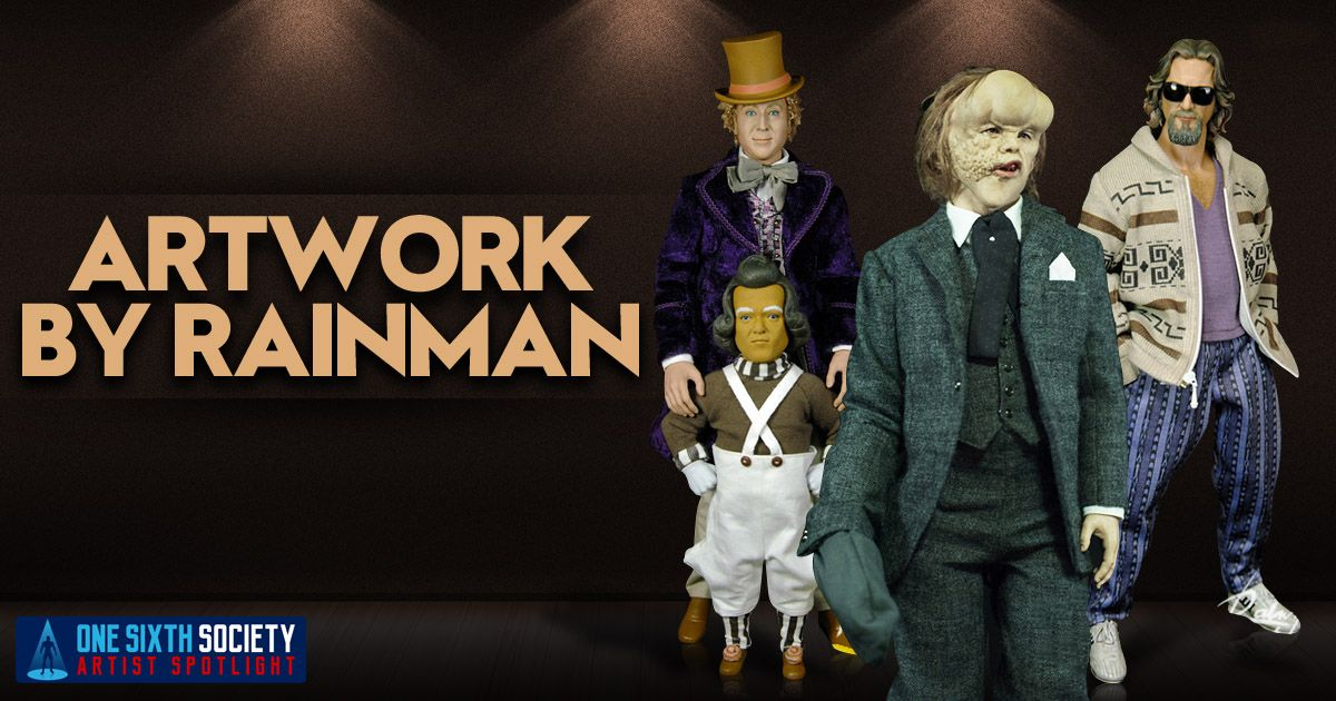 By Far One of the Biggest Legends is the Custom Rainman Figures