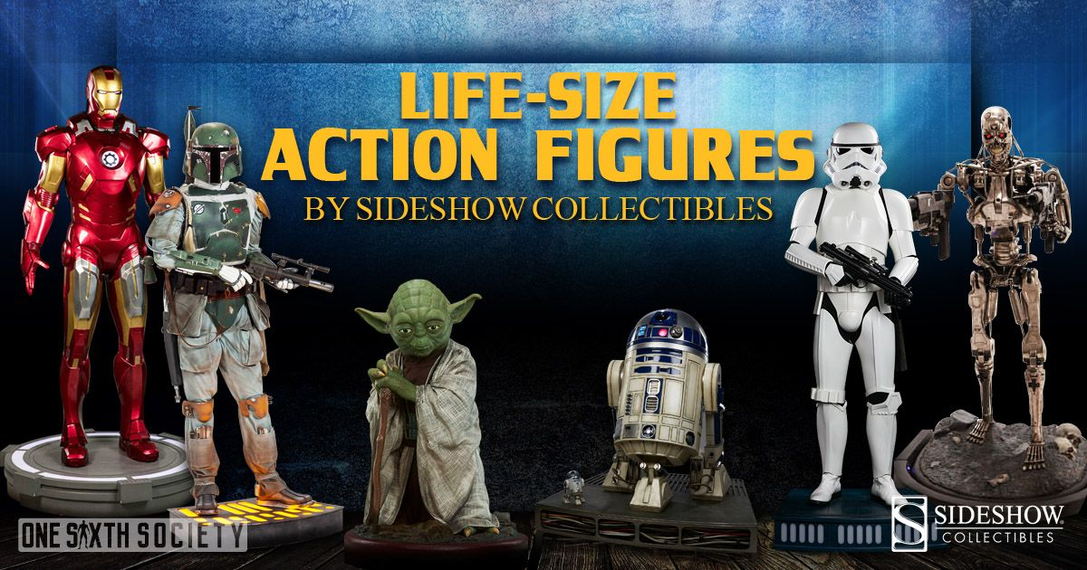 Amazing Life Size Action Figures
