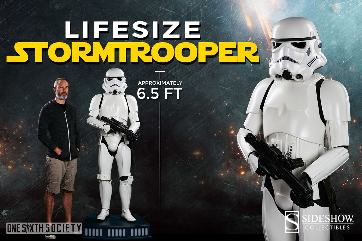 Amazing Sideshow Collectibles Storm Trooper Life Size Action Figure