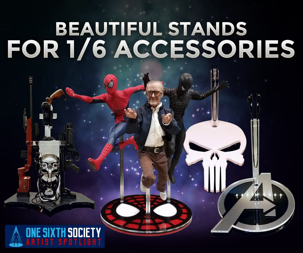 The best 1/6 figure accessory stands out there by Stoney's Stands