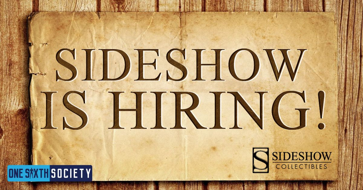 Sideshow Collectibles Jobs