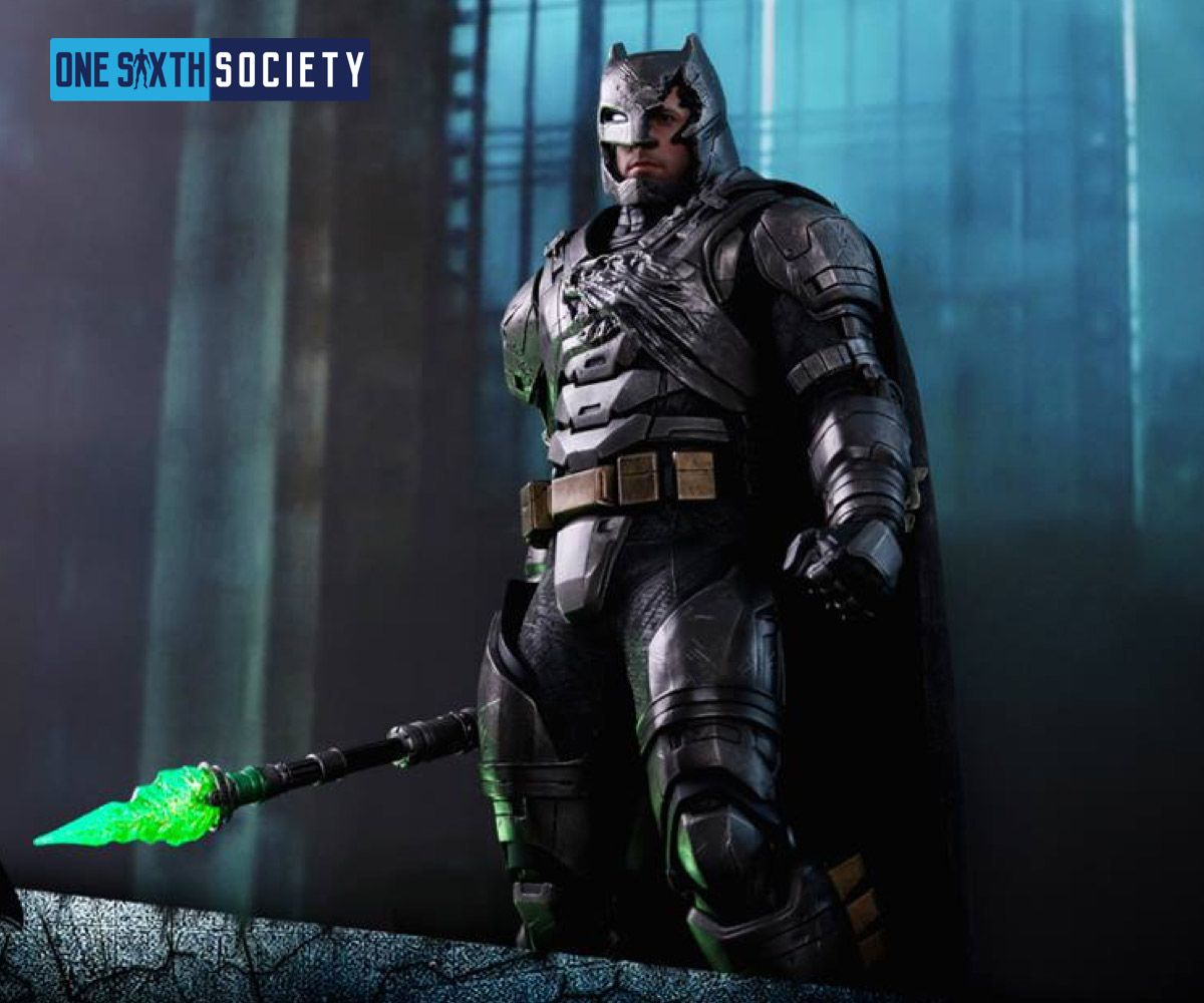 Check out the new Hot Toys Toy Fair 2017 Battle Damaged Armored Batman