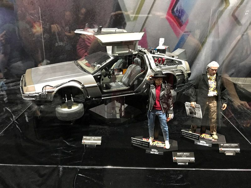 Hot Toys Comic Con 2017 Back to the Future Figures