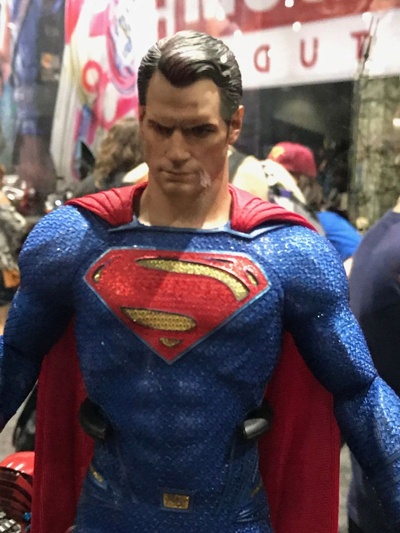 Hot Toys Comic Con 2017 D.C Comics Figures