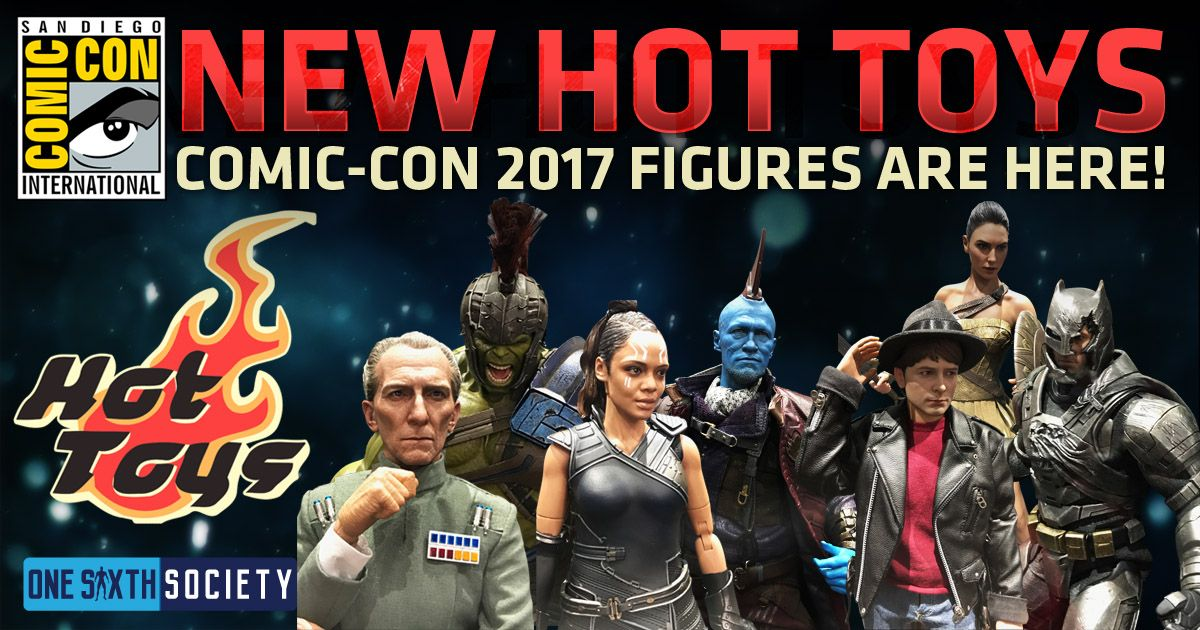 Hot Toys Comic Con 2017 Figures