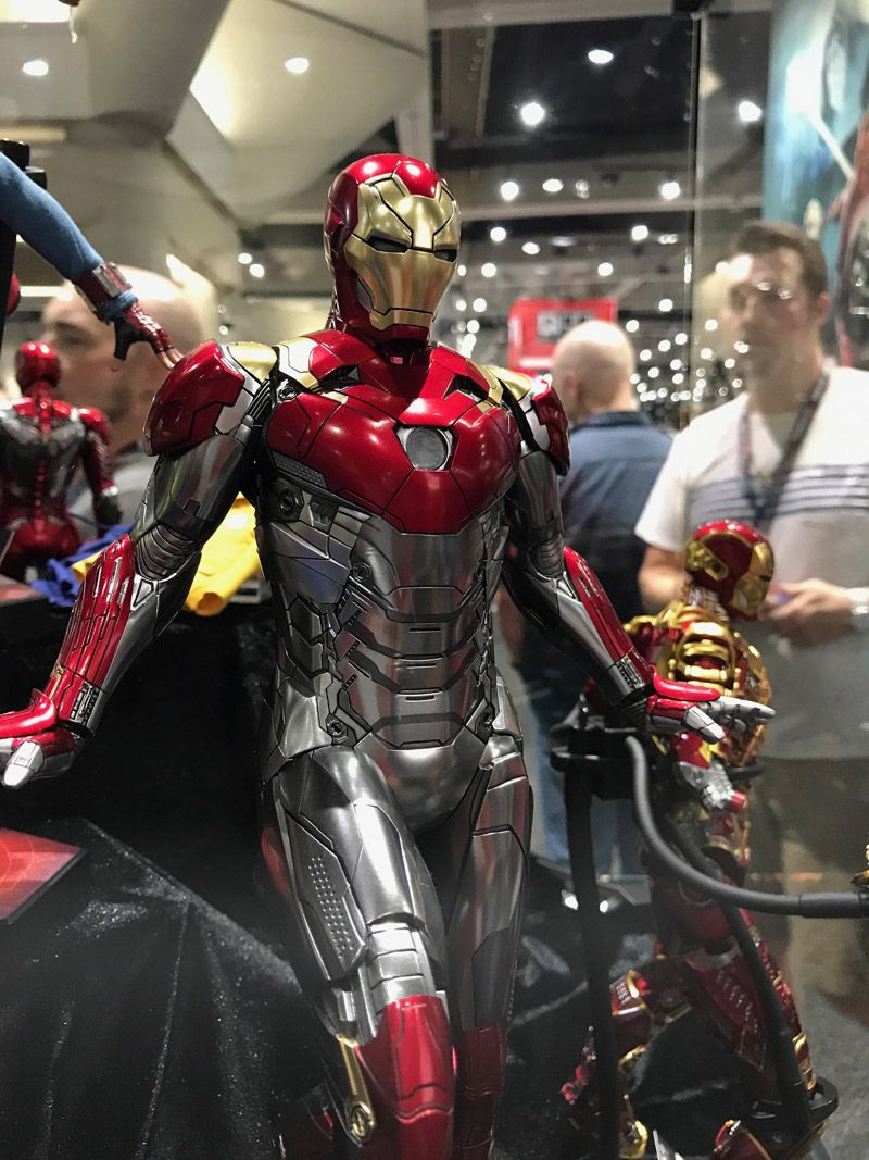 Hot Toys Comic Con 2017 Iron Man Figures