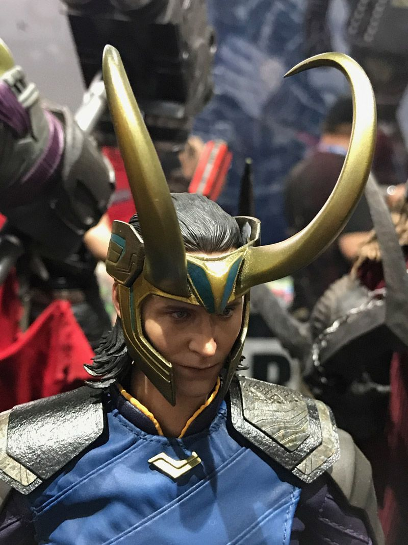 Hot Toys Comic Con 2017 Marvel Figures