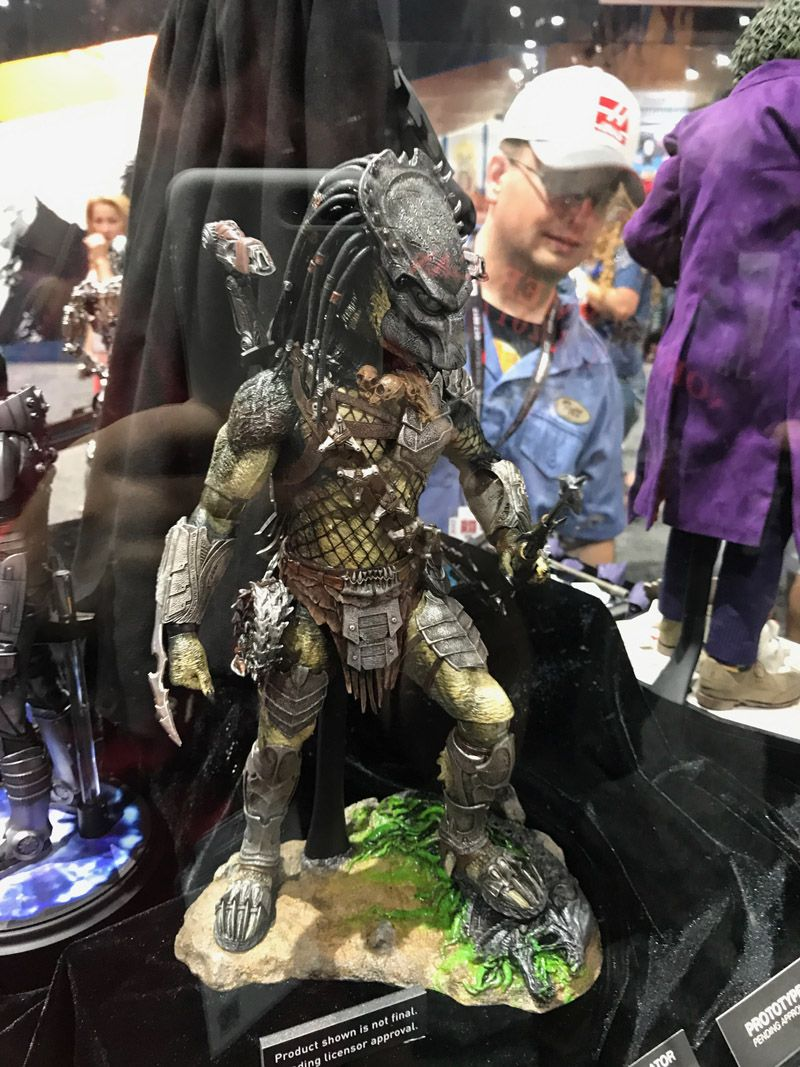 Hot Toys Comic Con 2017 Predator Figures