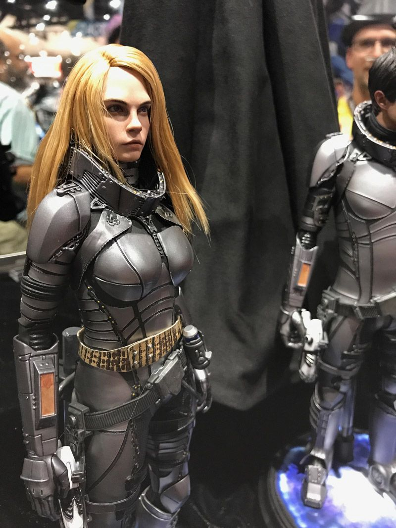 Hot Toys Comic Con 2017 Valerian Figures
