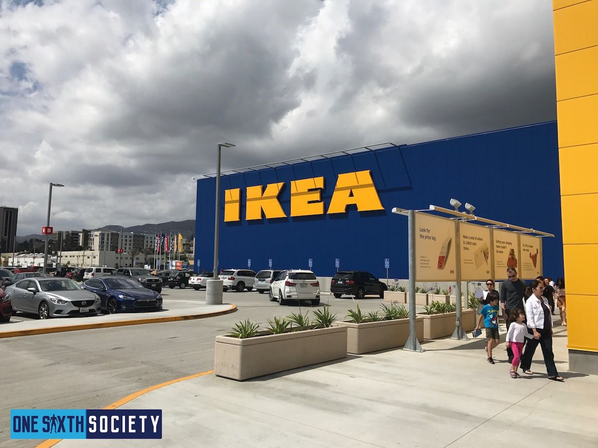 The Largest IKEA in America is Located in Burbank California