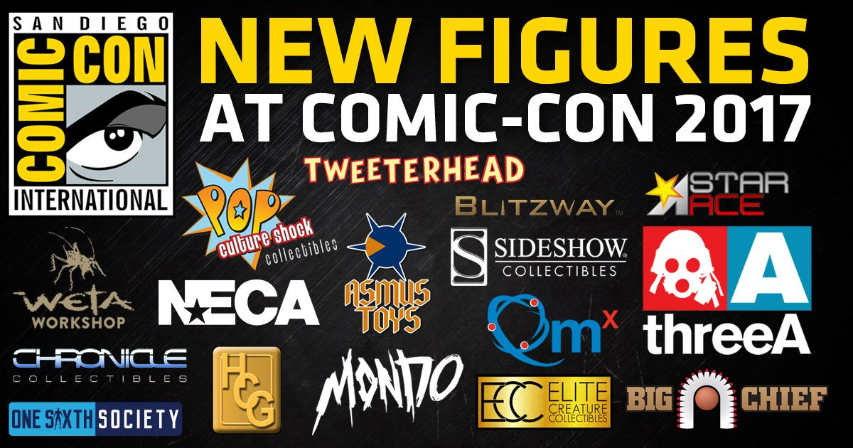 Comic Con 2017 Figures Round Up
