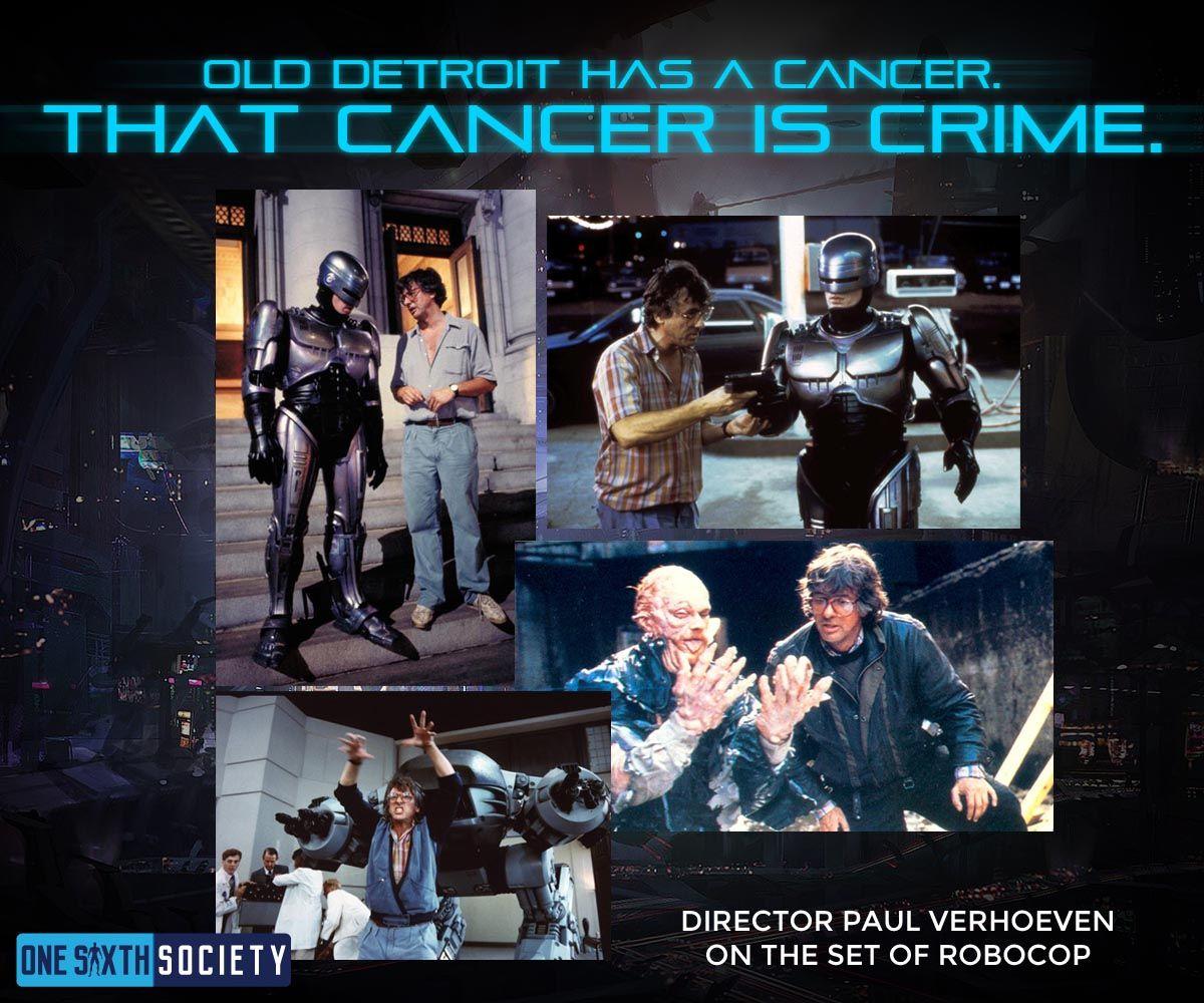 The Legendary Robocop Director Paul Verhoeven