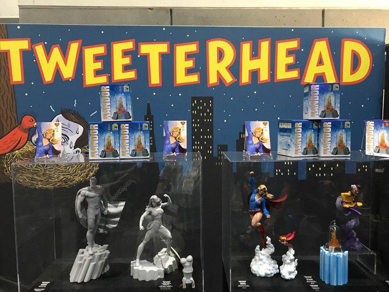 Tweeter Head Comic Con 2017