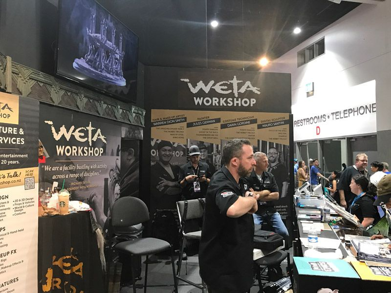 Weta Workshop Comic Con 2017