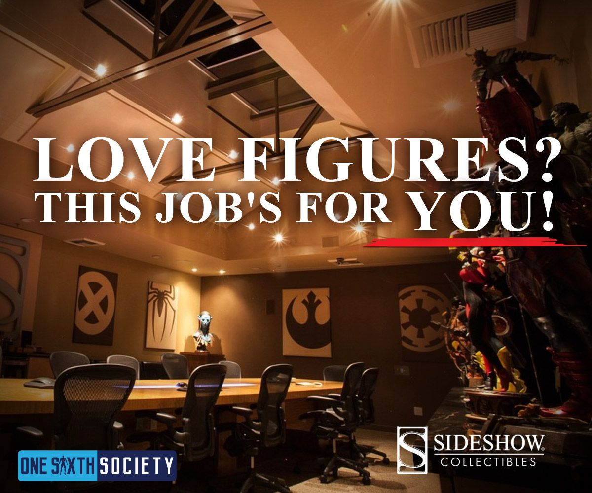Sideshow is looking for new employees