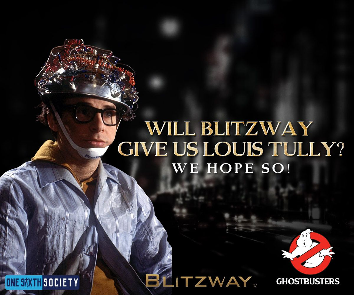 We Hoped to see a Blitzway Ghostbusters Louis Tully Figure at Comic Con 2017