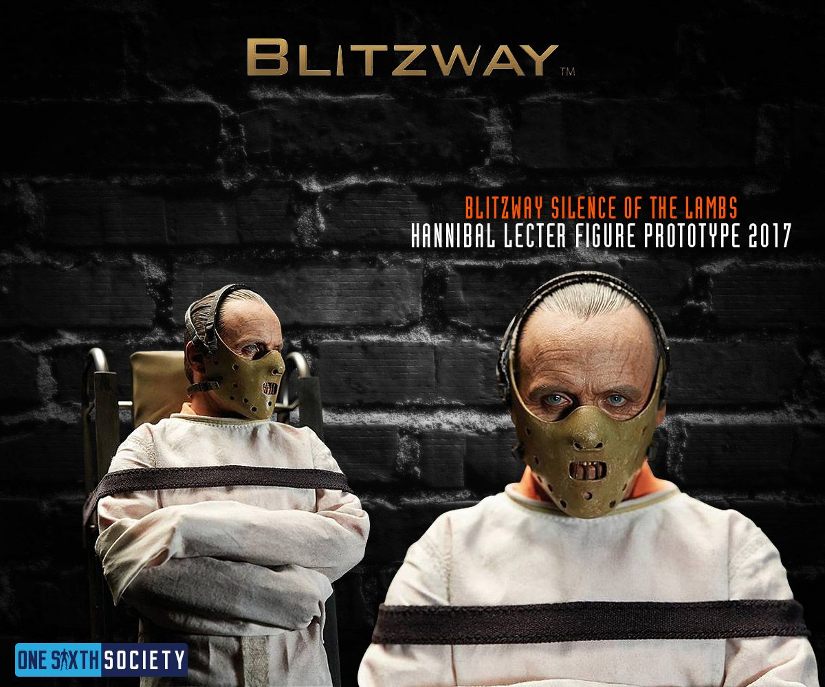 The Blitzway Hannibal Lecter Figure has a Very Impressive Head Sculpt