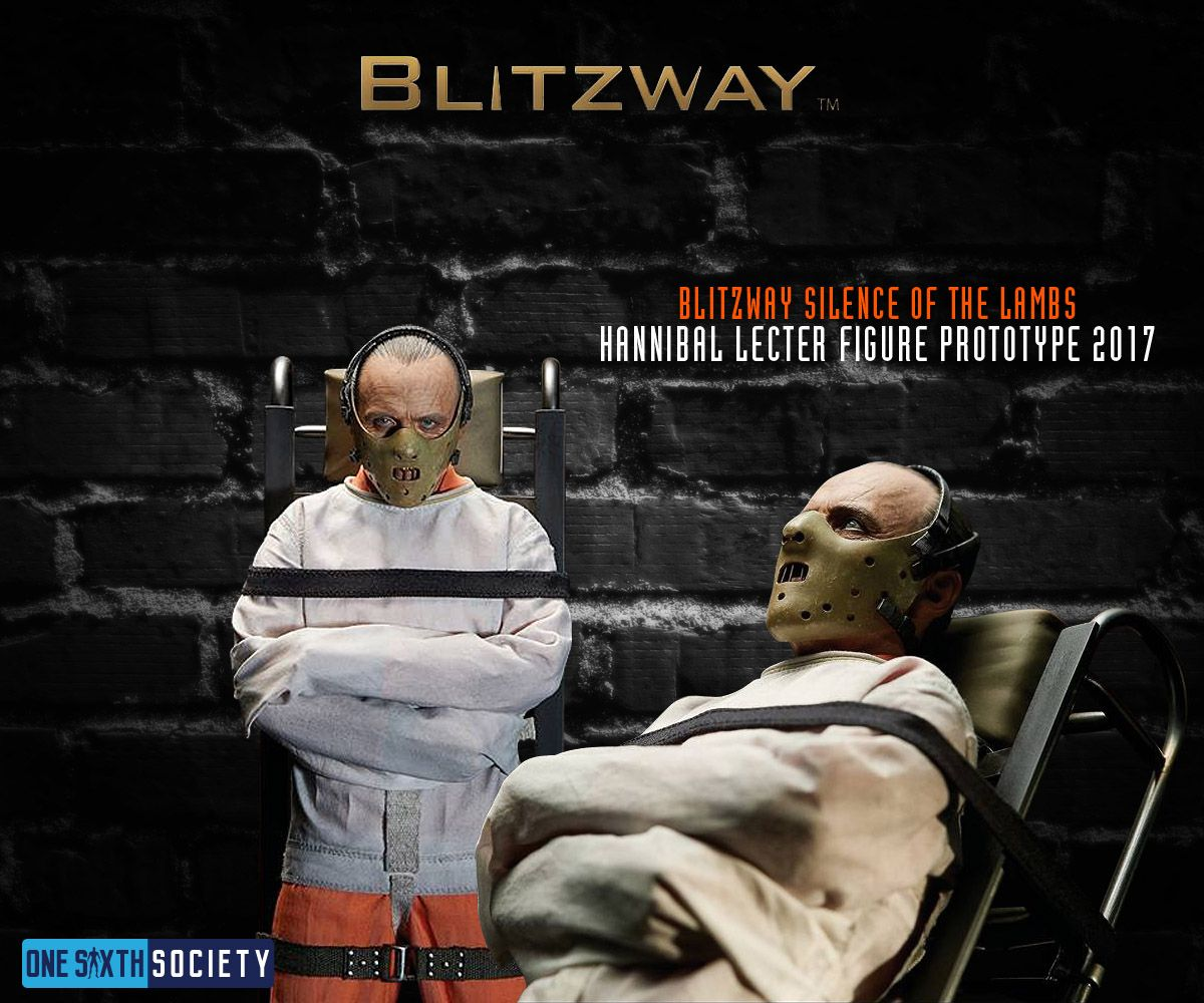 The Blitzway Hannibal Lecter Straightjacket Version Comes with a Dolly!