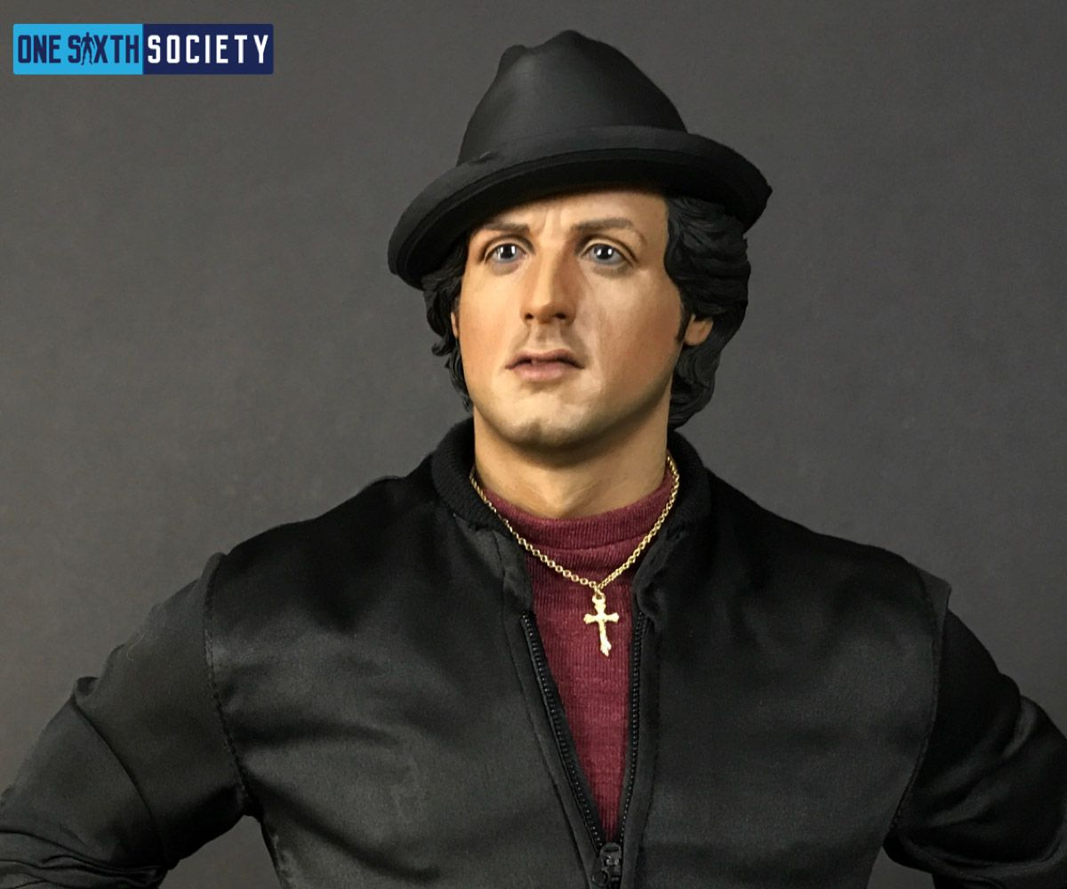 K.A Kim Sculpted the Blitzway Rocky Statue Head Sculpt