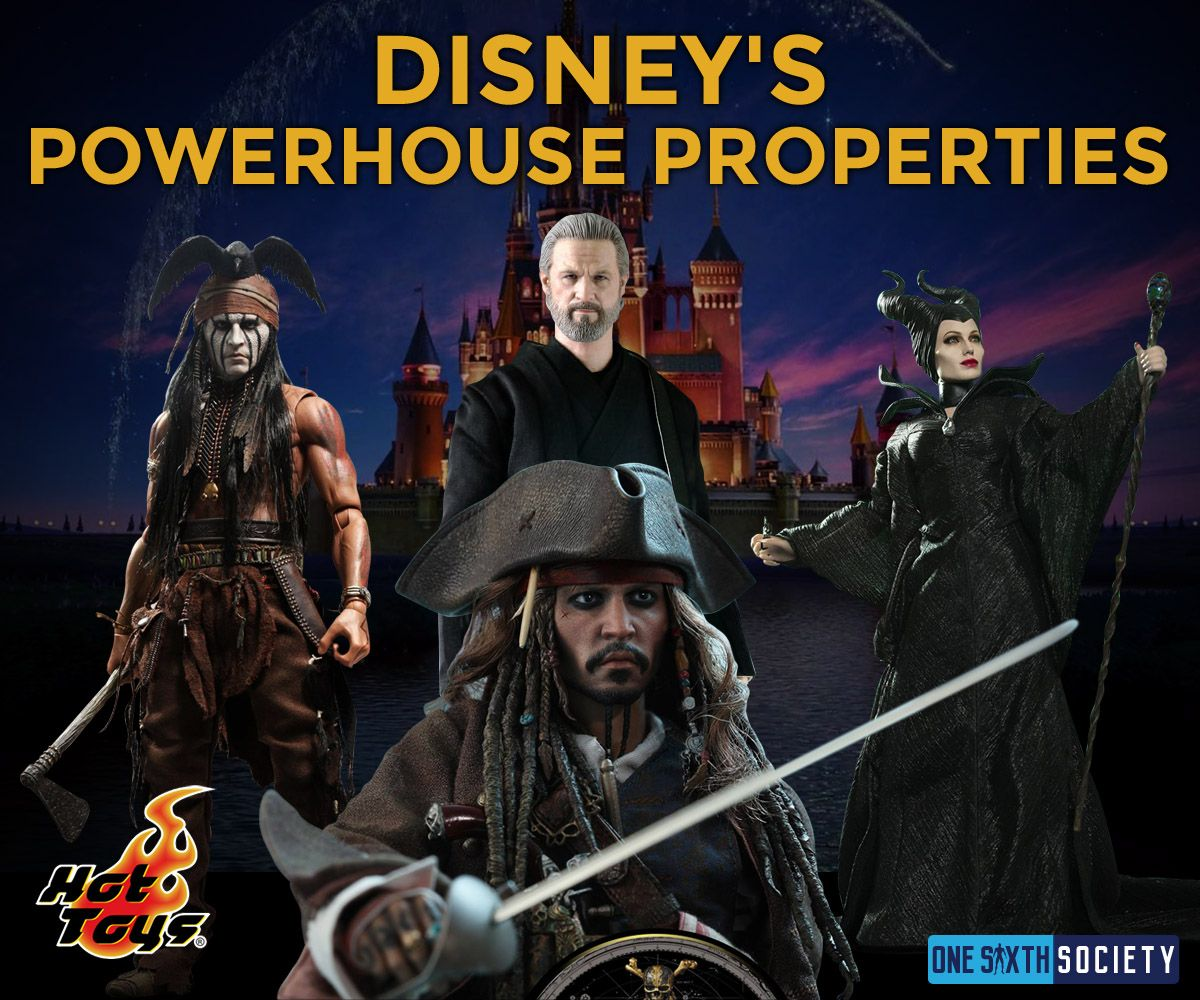 These are some of the Disney Characters Hot Toys Makes