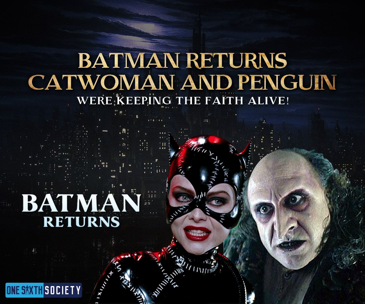 The Hot Toys Batman Returns Penguin And Catwoman figures should be coming soon
