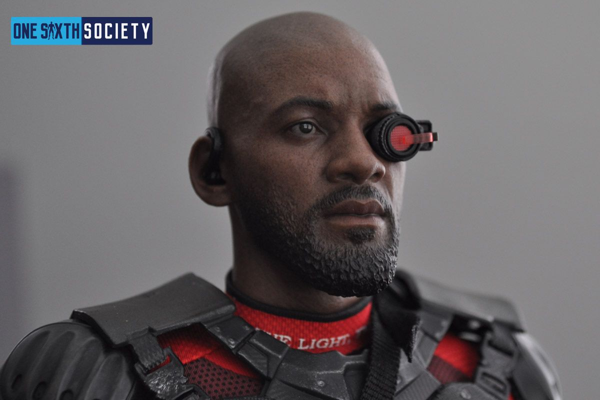 The Hot Toys Deadshot Headsculpt Has Stunning Likeness To Will Smith
