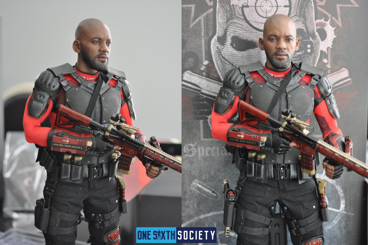 Beautiful Photos of The Hot Toys Deadshot Figure