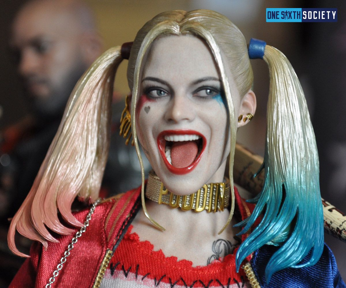 The Hot Toys Harley Quinn Head Sculpt is One the Best Ever Created