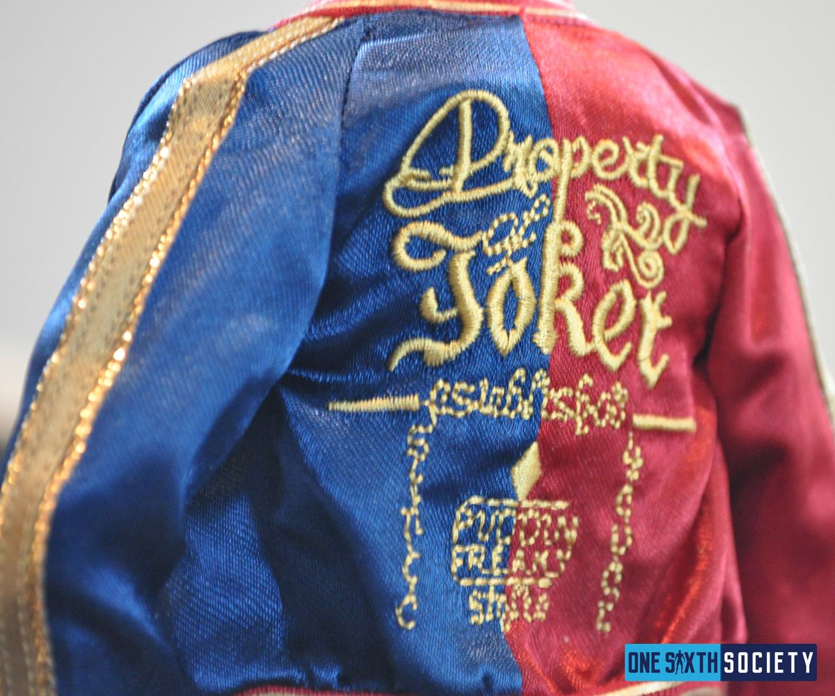 The Hot Toys Harley Quinn Jacket is an Exact Replica from the Movie
