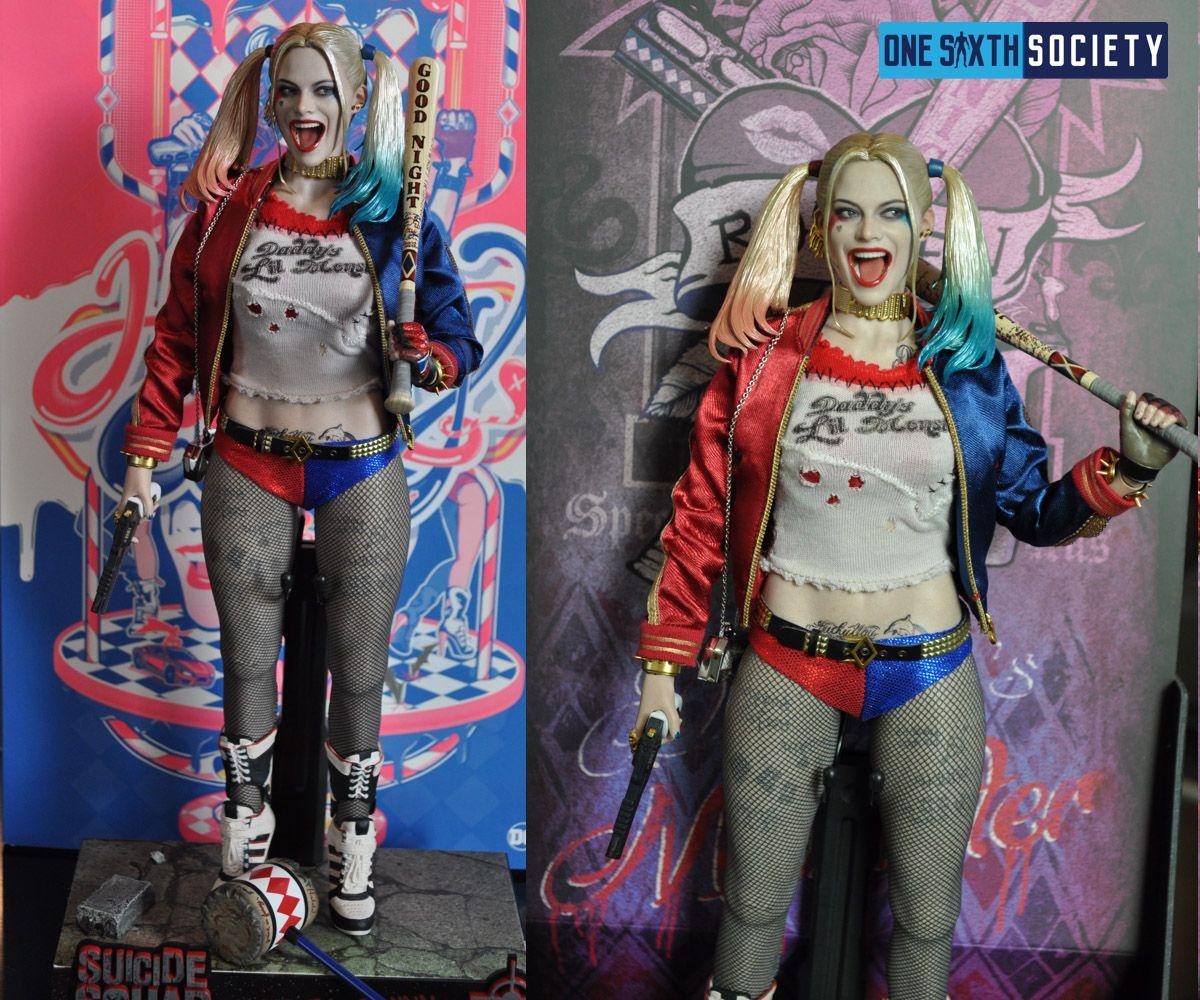 The Hot Toys Harley Quinn Figure Looks just Like Margot Robbie