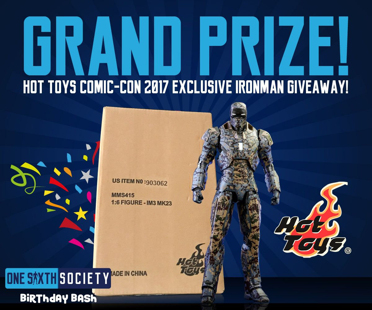 Come Join our Birthday Bash and Win an Ironman Figure