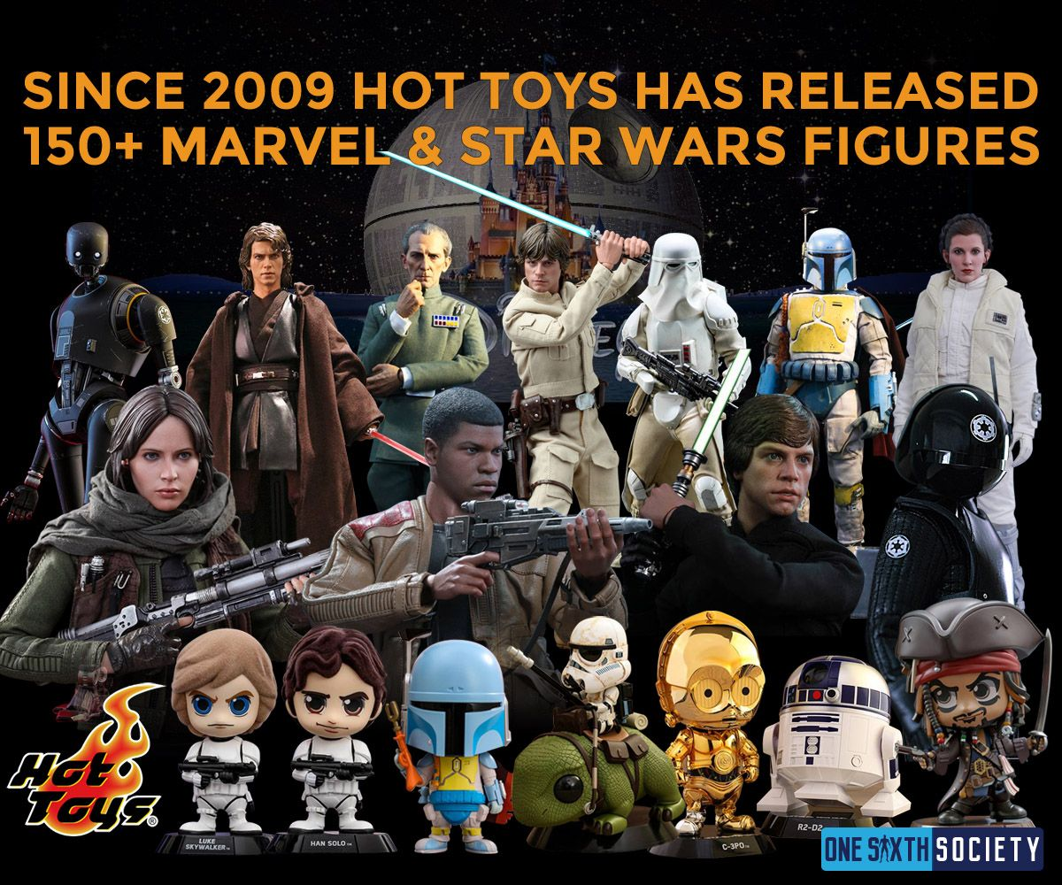 Hot Toys Makes the Most Accurate Star Wars Figures